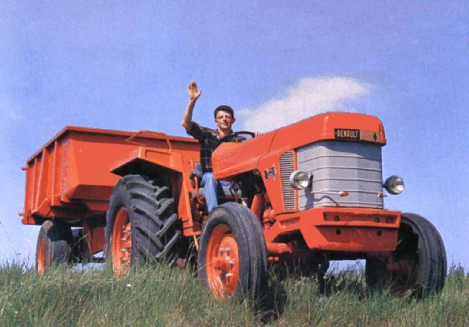 30 ans renault mais tracteur page 2 bistrot forum 4l - Tracteur rigolo ...